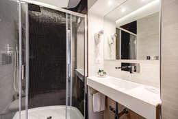 Projekty,  Łazienka zaprojektowane przez Arch. Lamberto Grutter