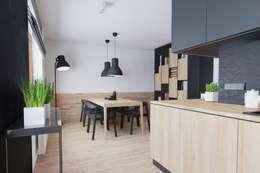 Mieszkanie JM: styl , w kategorii Jadalnia zaprojektowany przez 081 architekci