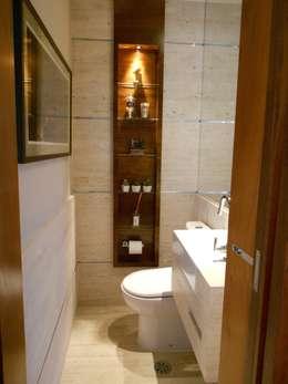 Lavabo: Banheiros modernos por Compondo Arquitetura