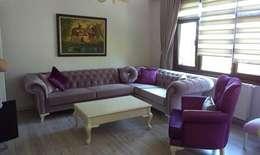 Koltuk Home – Chester köşe koltuk 2 : klasik tarz tarz Oturma Odası