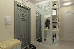 Pasillos y recibidores de estilo  por Алёна Демшинова