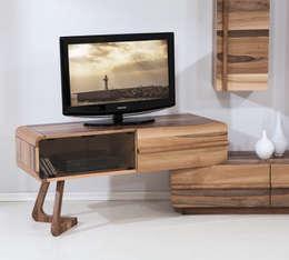 Trabcelona Design – PAZIL TV ÜNİTESİ: modern tarz Oturma Odası