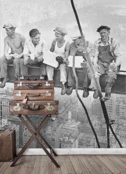 New York Workers: moderne Woonkamer door BN International
