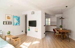 eclectic Living room by emmme studio