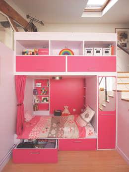 eclectic Nursery/kid's room by Ramsés Salazar Architecte