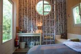Vogelhuisje om in te slapen:  Hotels door De Vreemde Vogel