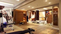 Тренажерные комнаты в . Автор – Biehl Arquitetura