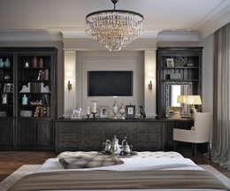 EJ Studio: klasik tarz tarz Yatak Odası