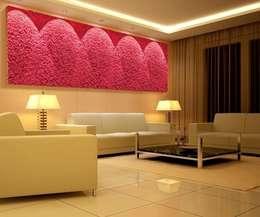 Salas / recibidores de estilo moderno por Dotto Francesco consulting Green