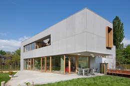 passiefwoning te Blanden: moderne Huizen door hasa architecten bvba