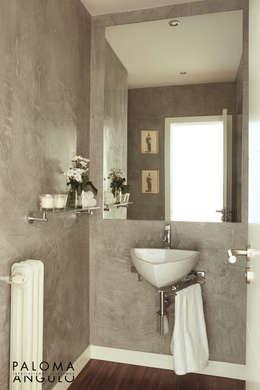 Aseo: Baños de estilo clásico de Interiorismo Paloma Angulo