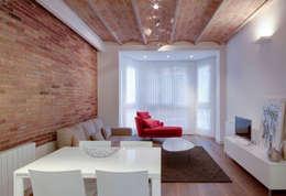 Salas / recibidores de estilo minimalista por ELIX