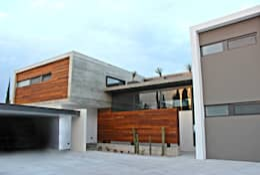 Casas de estilo moderno por VG+VM Arquitectos