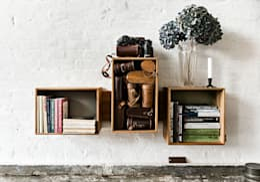 Livings de estilo escandinavo por We Do Wood
