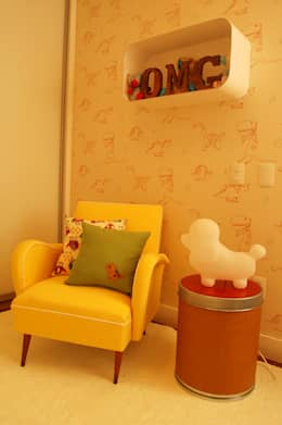 CASA MM | MM HOUSE: Quarto infantil  por Sandro Clemes