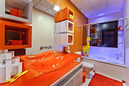 Salle de bains de style  par arquiteta aclaene de mello