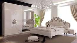 Mahir Mobilya – Avangart Yatak Odası: rustik tarz tarz Yatak Odası
