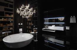 Baños de estilo moderno por Ri.fra mobili s.r.l.