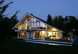 modern Houses by DAVINCI HAUS GmbH & Co. KG