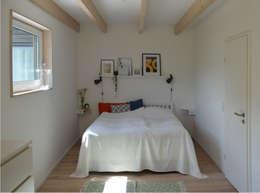 Projekty,  Sypialnia zaprojektowane przez gondesen architekt