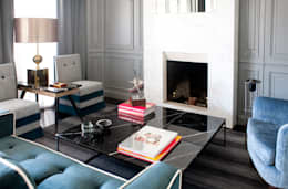 Salas / recibidores de estilo moderno por IN DESIGN Studio