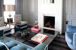 modern Living room by IN DESIGN Studio
