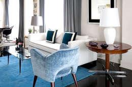 Salas de estar modernas por IN DESIGN Studio
