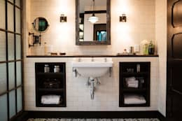 Drummonds Case Study: Loz Feliz Retreat, California: mediterranean Bathroom by Drummonds Bathrooms