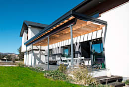 Jardines de estilo moderno por Canexel