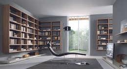 minimalistic Study/office by Lamco Design LTD