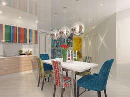 Квартира в ЖК Антарес.: Кухни в . Автор – Tutto design