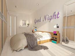 Квартира в ЖК Антарес.: Спальни в . Автор – Tutto design