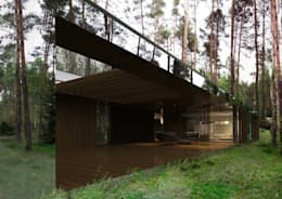 Maisons de style de style Moderne par REFORM Architekt Marcin Tomaszewski