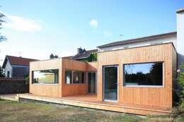 VIOLETTE: Maisons de style de style Scandinave par bertin bichet architectes