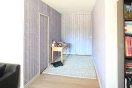 palier d'alice: Murs & Sols de style de style Scandinave par bertin bichet architectes