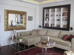 İdea Mimarlık – Salon: akdeniz tarzı tarz Oturma Odası