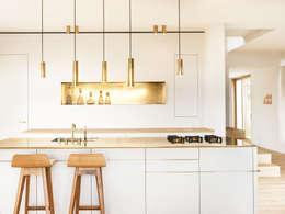 Projekty,  Kuchnia zaprojektowane przez Spandri Wiedemann Architekten