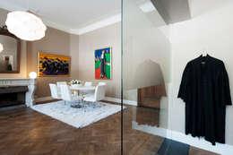 Interieur-advies advocatenkantoor:  Kantoor- & winkelruimten door Mood Interieur
