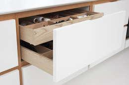 Projekty,  Kuchnia zaprojektowane przez MARGURİT  COPENHAGEN
