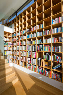 modern Study/office by Philipp Architekten - Anna Philipp