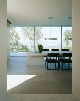 Salle à manger de style de style Minimaliste par Philipp Architekten - Anna Philipp