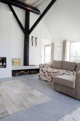 Vakantiehuis Schiermonnikoog: eclectische Woonkamer door Binnenvorm
