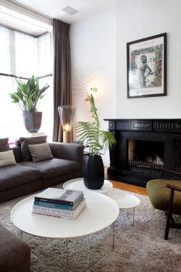 Binnenvorm: eklektik tarz tarz Oturma Odası