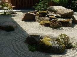 Projekty,  Ogród zaprojektowane przez Gärten für die Seele - Harald Lebender