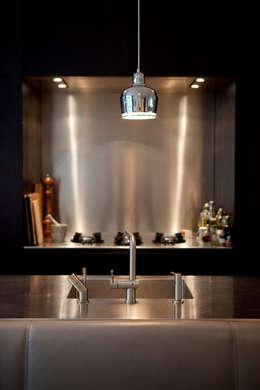 Familiehuis, Amsterdam Zuid: moderne Keuken door Binnenvorm