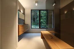 moderne Badkamer door DG/D Architekten