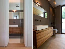 modern Bathroom by DG/D Architekten