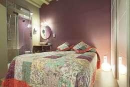 Dormitorios de estilo industrial por ABZUG INTERIORS