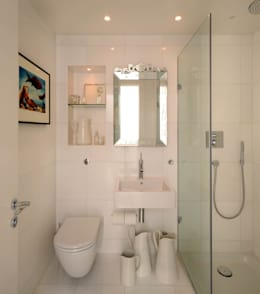 modern Bathroom by TG Studio