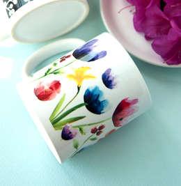 봄꽃 첫번째: 블루케의  주방
